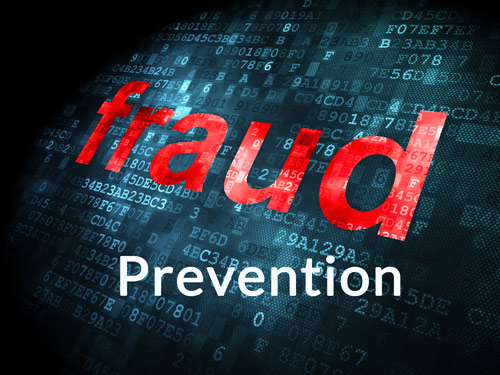 Fraud prevention.