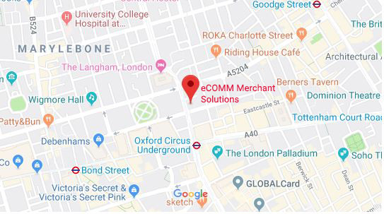 London office location map.