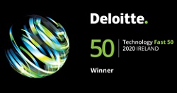 Fast 50 tech list badge