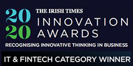 Irish Times Innovation IT & Finance Winner